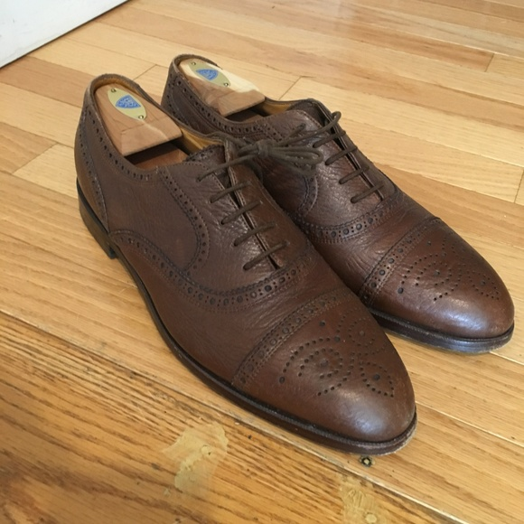 Bally Suisse Prestige Parawet Mens Dress Shoes